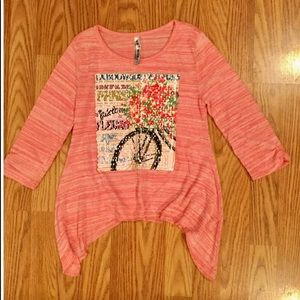 Girls Knit Works top